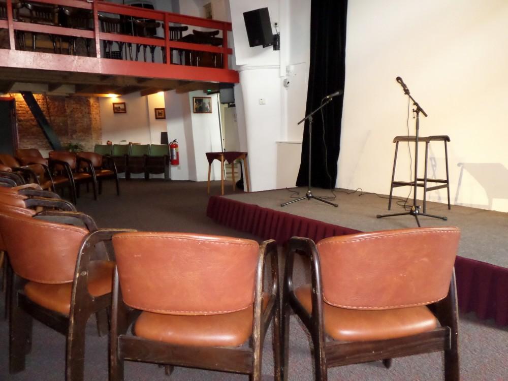 Theaterzaal onder de molen